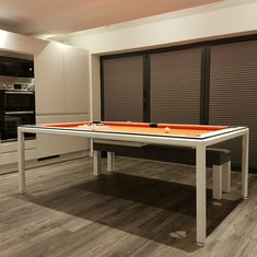 The Slimline Pool Table, we believe to be the slimmest Pool Dining Table you can find on the market. This table can be used as a stand alone Pool Table or as a Pool Dining Table due to its incredibly slim frame design. Pool Table Dining Table, Pool Tables, Ral Colours, Table Sizes, Table Dimensions, Wood Colors, Types Of Wood, Steel Frame, Luxury