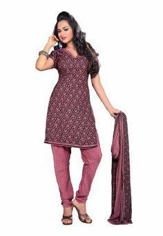 Fabdeal Women's Indian Designer Wear Printed Salwar Light Pink & Black Fabdeal, http://www.amazon.de/dp/B00F0KI62E/ref=cm_sw_r_pi_dp_XAQptb1G9AJYK