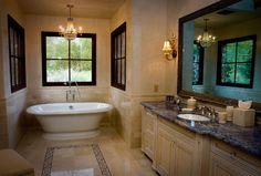 Traditional Bathroom Master Bath Design, Pictures, Remodel, Decor and Ideas - page 18