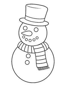Explore Hd Snowman Clipart Outline - Snow Man Clip Art Black And White and upload more creative png images on Sccpre. Christmas Tree Clipart, Christmas Applique, Christmas Frames, Christmas Templates, Christmas Colors, Christmas Snowman, White Christmas, Snowman Images, Snowmen Pictures
