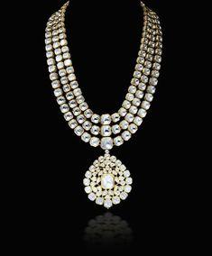 zevaremporiumom I Kundan meena polki Pakistani Jewelry, Indian Wedding Jewelry, Bridal Jewelry, Gold Jewelry, Antique Jewellery, Stylish Jewelry, Fashion Jewelry, Women's Fashion, Uncut Diamond