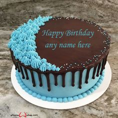 write name on pictures with eNameWishes by stylizing their names and captions by generating text on Create Name on Birthday Cake Image with ease Beautiful Birthday Cake Images, Happy Birthday Cake Images, Best Christmas Quotes, Christmas Fun, Images For Facebook Profile, Butterfly Birthday Cakes, Create Name, Birthday Celebration, Captions