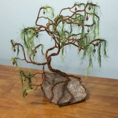 """Under The Divine Lote-Tree. My first fiber sculpture . Inspired by the following: """"I beseech Thee, O my God, by the rustling of the Divine Lote-Tree and the murmur of the breezes of Thine utterance in the kingdom of Thy names, to remove far from whatsoever Thy will abhorreth, and draw me nigh unto the station wherein He Who is the Dayspring of Thy signs hath shone forth. Thou seest  me, O my God, holding to Thy Name, the Most Holy, the Most Luminous, the Most Mighty, the Most…"""