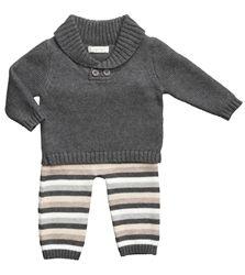 Angel Dear - Brooklyn Shawl Collar Sweater Set