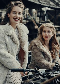 Goodwood Revival, Rabbit Fur, Fur Coat, Bike, Mood, Lady, Jackets, Fashion, Bicycle