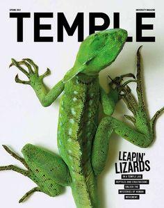 Temple Magazine Cover