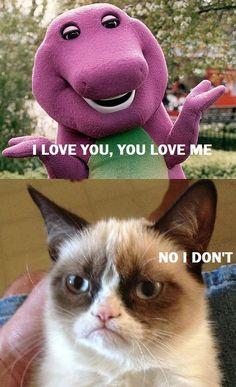 Thank you, Grumpy Cat! Grumpy Cat Quotes, Funny Grumpy Cat Memes, Funny Animal Jokes, Cat Jokes, Stupid Funny Memes, Cute Funny Animals, Funny Animal Pictures, Funny Cute, Hilarious