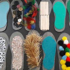 Sensorialité niveau des pieds (stimulation du système d'équilibration chez la personne âgées), a utiliser dans un parcours (polygone de sustentation)