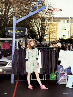 """""""Play the Market"""" ELLE UK March 2017"""