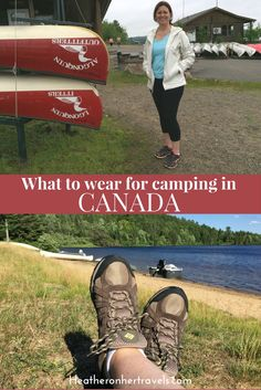Read what to wear for a camping trip to Canada