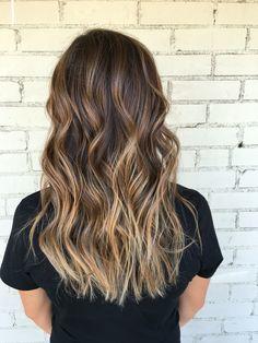 Balayage, brown hair, brown balayage, blonde balayage, bronde, hair, long hair, brown hair color, highlights