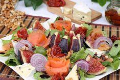 wesoła kuchnia: Sałatka pod figami Sushi, Ethnic Recipes, Food, Meal, Essen, Hoods, Meals, Eten