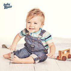 OshKosh baby-boys Worlds Best Overalls Overalls