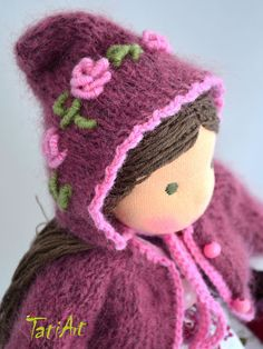 Natural dolls and toys. Waldorf Dolls, Winter Hats, Natural, Baby Dolls, Tela, Make Your Own, Nature, Au Natural