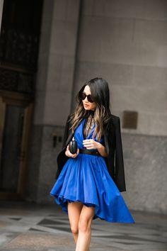 Bubble :: Blue dress