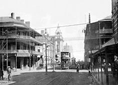 Market Street, Johannesburg by HiltonT, via Flickr Old Pictures, Old Photos, Johannesburg City, Car In The World, Historical Pictures, African History, South Africa, Landscape Photography, Street View