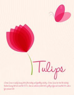 Tulips Flower Vector