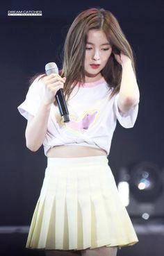 Red Velvet - Irene Redvelvet Kpop, Red Velvet Irene, Cute Asian Girls, Stage Outfits, Kpop Girls, Designer Dresses, High Waisted Skirt, Girls Dresses, Fashion Design