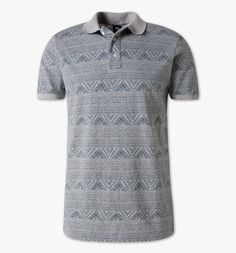 Functionimage view Poloshirt in grau
