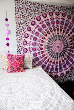 awesome 63 Cozy Bohemian Teenage Girls Bedroom Ideas