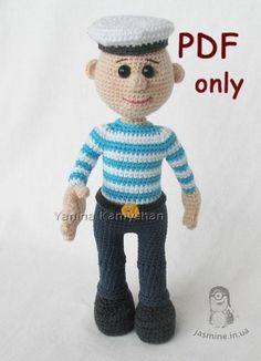 (4) Name: 'Crocheting : Sailor