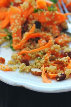 happy hearted kitchen: Moroccan Carrot & Quinoa Salad