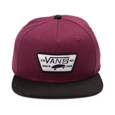 Vans Full Patch Visor Snapback Cap