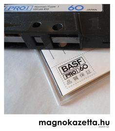 vintage cassette BASF proI 60