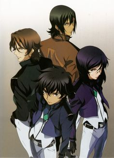 Gundam 00. I would never have thought I would like this show... It turns out siblings know each other better than we think.