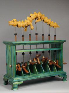 Automata Crank | dragon-emerges-from-sea-schiller-2011