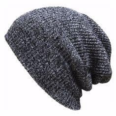 b2a955583edb2 OB Knit Oversized Slouchy Unisex Beanie Men Women Teens   HatsForWomenOutfits Beanie Hats