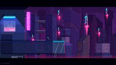 Leaving home - cyberpunk theme by kirokaze.deviantart.com on @DeviantArt