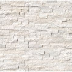 Natural Stone US offers ledger panels as Stacked Stone Ledger Panels, Ledger Stone Panels, Natural stone veneers in San Jose, CA warehouse. Exterior Wall Design, Interior And Exterior, Marble Wall, Wall Tiles, White Marble, Honed Marble, White Oak, White Stone Fireplaces, Stone Veneer Fireplace