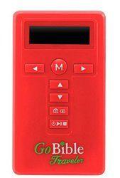 fb3bd3b0295 Go Bible Traveler Digital Audio Bible New International Version-NIV (Red)