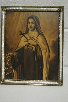 vintage St. Theresa framed. You have answered so many prayers for me