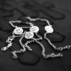 deep anger - NEW COLLECTION - this is life collection - happy, anger, sorrows, joys.  www.deepanger.com   (852) 2869 8303   #deepanger #925 #silver #fashion #thisislife #happy #anger #sorrows #joys #maltese #bracelet