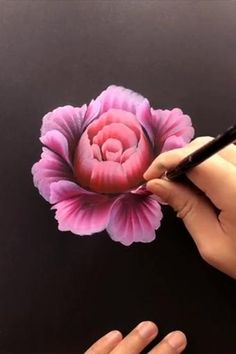 Diy Art Painting, Painting Art Lesson, Flower Painting, Flower Art Painting, Drawings, Nature Art Painting, Amazing Art Painting, Acrylic Painting Flowers, Diy Canvas Art Painting