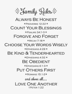 printable family rules (scripture)