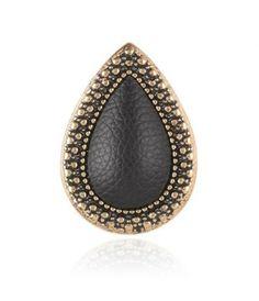 Samantha Wills Bohemian Bardot Ring Black Embossed Leather Fashion Jewelry Stores, Samantha Wills, Black Rings, Bardot, Fashion Boutique, Jewelry Collection, Fashion Online, Jewelery, Gemstone Rings
