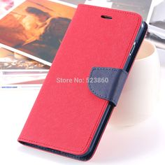 2016 Fashion PU Leather Case For iphone6 6S 4.7 / For Iphone 6S Plus 5.5 Wallet Stand Flip Brand Cover Card Slot Phone Cases | Price: US $2.99 | http://www.bestali.com/goto/2021231212/10