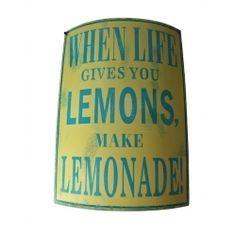 Lemonade Vintage Kitchen Sign