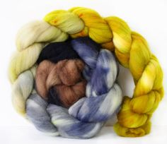Bryden Canyon 4 oz Targhee Roving Wool by atomicblue on Etsy