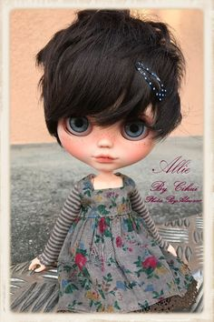 ALLIE OOAK CUSTOM BLYTHE ARTIST DOLL in Dolls & Bears, Dolls, By Brand, Company, Character, Blythe | eBay