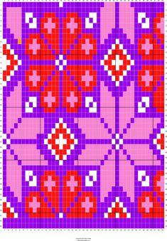 Wayuu Mochila pattern Baltic