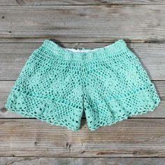 crochet shorts. so cute                                                                                                                                                     More