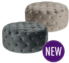 Priscilla Ottoman – 2 Colour Options