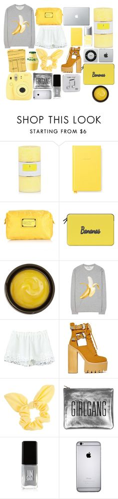 """bananas"" by april-diamond ❤ liked on Polyvore featuring Kate Spade, Marc Jacobs, Casetify, de Mamiel, Acne Studios, Jeffrey Campbell, Dorothy Perkins, Fujifilm, Sarah Baily and JINsoon"