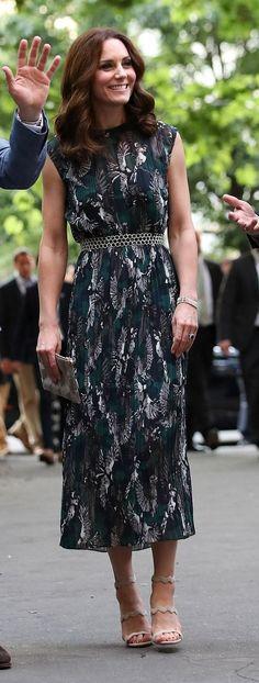 Catherine, The Duchess of Cambridge in Markus Lupfer attends the Clärchens Ballhaus reception in Berlin. #bestdressed