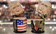 Trump dice tener «mucho que discutir» con Putin