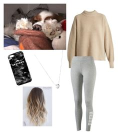 Sleep with my dog🐶♥️ by emma1322 on Polyvore featuring polyvore, мода, style, The Row, Puma, Links of London, Mr. Gugu & Miss Go, fashion and clothing